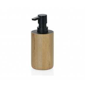 Dispensador de baño de madera de roble