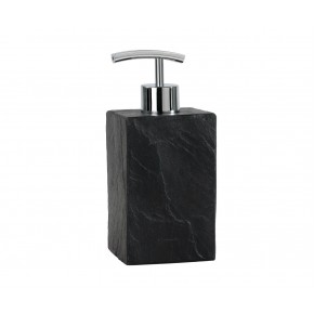 Dispensador de baño de pizarra negra natural