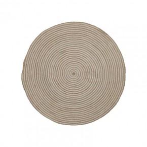 SAMY Alfombra yute redonda 100 natural Espiral
